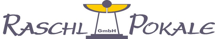 Raschl Pokale Onlineshop-Logo
